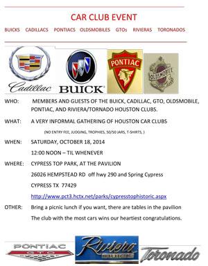 October 18th Car Show