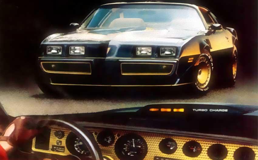 1981 Trans-Am Turbo V-8